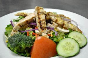 Blackened or Grilled Chicken Salad