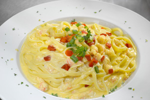 Langostino Lobster Linguini